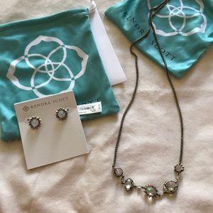 Kendra Scott Necklace ( Earrings just shown)